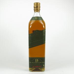 Johnnie Walker Green Label 15 Year Old 1990s 1 Litre