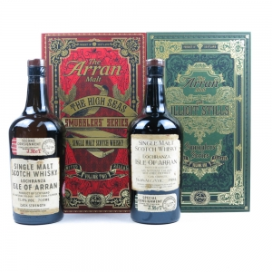 Arran Smugglers' Series Volumes 1 and 2 / The Illict Stills and The High Sea 2 x 70cl