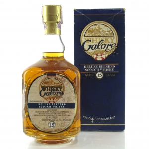 Whisky Galore 15 Year Old Deluxe