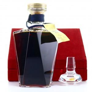 Martell Cordon Bleu Cognac Baccarat Decanter 1970s