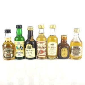 Miscellaneous Miniature Selection 7 x 5cl
