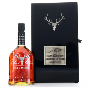 Dalmore 40 Year Old Astrum / Signed