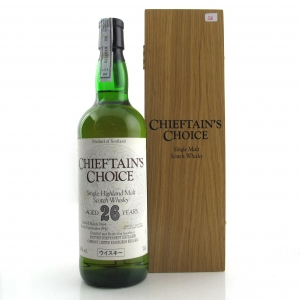 Highland Single Malt 1964 Chieftain's Choice 26 Year Old / Japanese Import