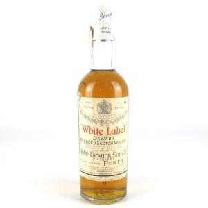 Dewar's White Label Circa 1950s / US Import
