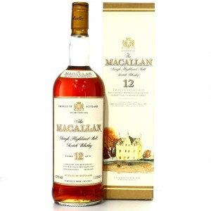 Macallan 12 Year Old 1 Litre early 2000s