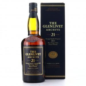 Glenlivet 21 Year Old Archive
