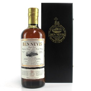 Ben Nevis 1966 Single Cask 51 Year Old #4278 / LMDW Exclusive