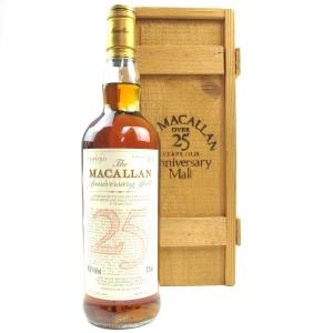 Macallan 1964 Anniversary Malt 25 Year Old