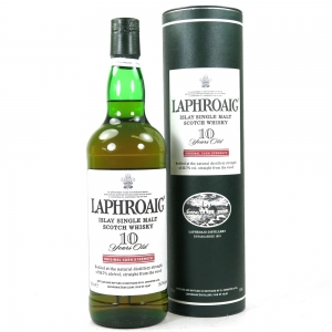 Laphroaig 10 Year Old Cask Strength US Import 75cl