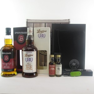 Springbank Society Gift Pack 2 x 70cl / Springbank 12 Year Old Cask Strength & Longrow 18 Year Old