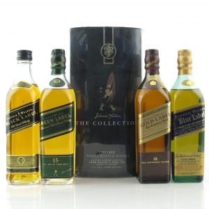 Johnnie Walker The Collection 4 x 20cl / including Blue Label