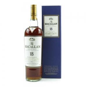 Macallan 18 Year Old 1987