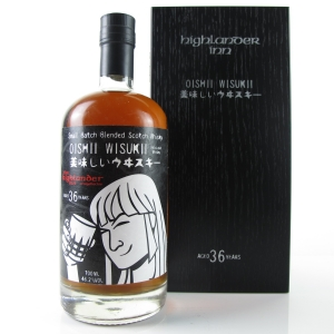 Oishii Wisukii 36 Year Old Highlander Inn Small Batch