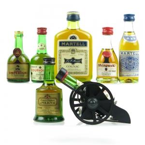 Miniature Cognac Selection 1960s/70s x7