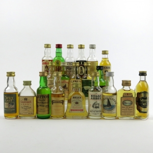 Miscellaneous Blended Miniature Whisky Selection x 20