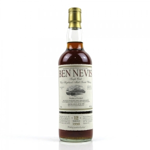 Ben Nevis 1998 Single Cask 12 Year Old