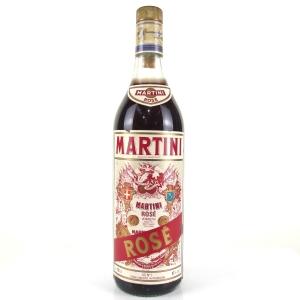 Martini Rose Vermouth 1 Litre 1990s