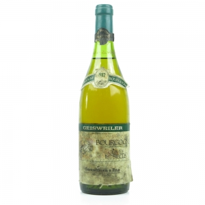 Geisweiler 1982 Bourgogne Blanc