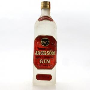 Jackson Dry London Gin 1960s