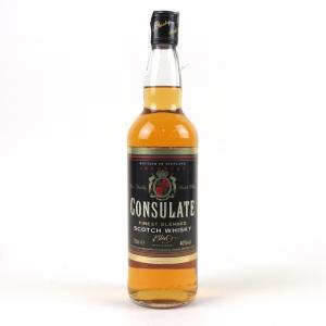Consulate Scotch Blend 1980s