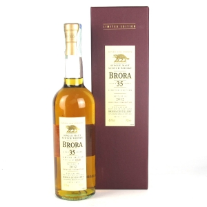 Brora 35 Year Old 2012 Release