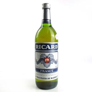 Ricard Pastis 1 Litre 1980s