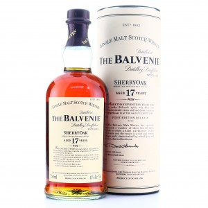Balvenie 17 Year Old Sherry Oak / First Release 2007 75cl