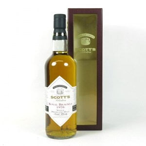 Royal Brackla 1976 Scott's Selection 25 Year Old front