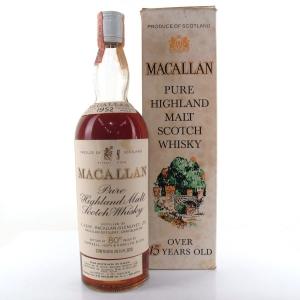 Macallan 1952 Campbell Hope and King / Rinaldi Import