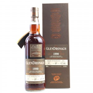 Glendronach 1990 Single Cask 27 Year Old #1014