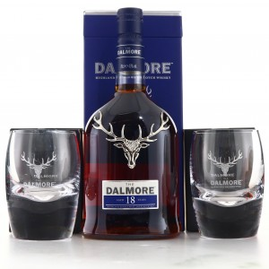 Dalmore 18 Year Old / Includes 2 x Branded Tumblers