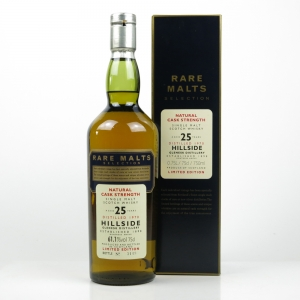 *PICS Hillside / Glenesk 1970 Rare Malt 25 Year Old 75cl