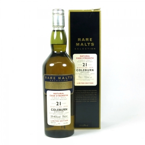 Coleburn 1979 Rare Malt 21 Year Old front