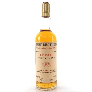 Ledaig 1973 Hart Brothers 21 Year Old