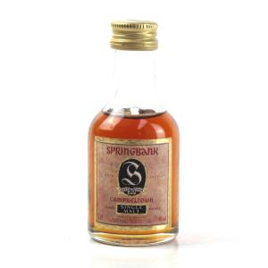 Springbank 30 Year Old 1990s 5cl Miniature