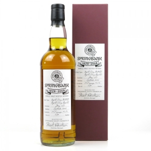 Springbank 1997 11 Year Old Sherry Cask