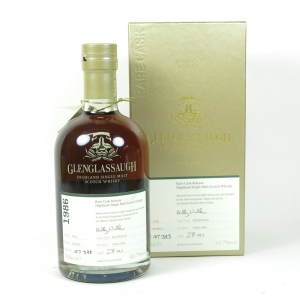 Glenglassaugh 1986 Single Cask 28 Year Old front