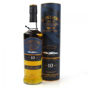 Bowmore Tempest 10 Year Old Batch #1