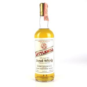 Littlemill 12 Year Old Full Proof / Italian Import