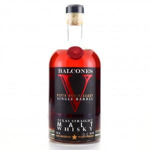 Balcones Fifth Anniversary Single Barrel