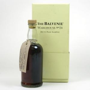 Balvenie Warehouse 24 Sample Front
