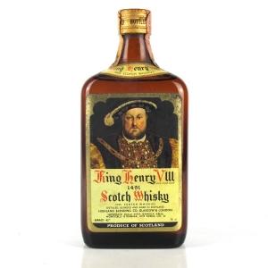 King Henry VIII Scotch Whisky 1960s