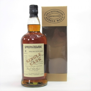 Springbank 1996 Single Cask 12 Year Old / Oloroso Sherry Butt 75cl / US Import