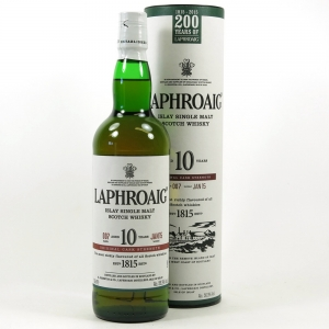 Laphroaig 10 Year Old Cask Strength Batch #007 Front
