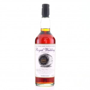 Port Ellen 1982 Whisky Exchange Single Cask / Royal Wedding 2011