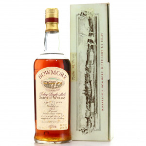 Bowmore 1972 Single Sherry Cask 21 Year Old