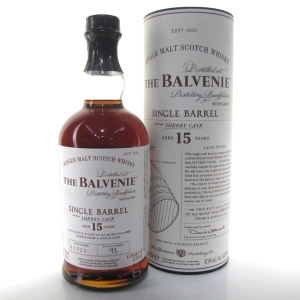 Balvenie 15 Year Old Single Barrel / Sherry Cask