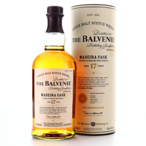 Balvenie 17 Year Old Madeira Cask Finish 2009 / First Release