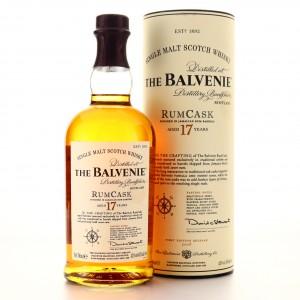 Balvenie 17 Year Old Rum Cask 2008 / First Edition