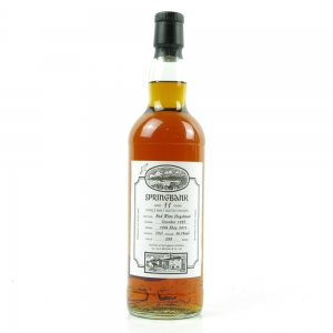 Springbank 1999 Red Wine Hogshead 11 Year Old